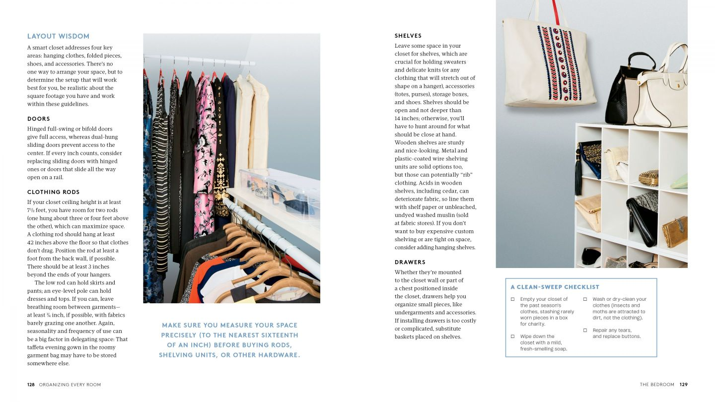 RS_OER_05_Bedroom_128-129 How to Organize Your Home with Help from REAL SIMPLE Editors