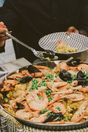 TTE-PaellaParadise-7320-300x450 North Carolina Seafood: Paella Paradise with The Table Experience