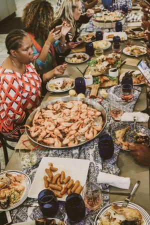 TTE-PaellaParadise-7343-300x450 North Carolina Seafood: Paella Paradise with The Table Experience