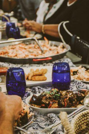 TTE-PaellaParadise-7362-300x450 North Carolina Seafood: Paella Paradise with The Table Experience