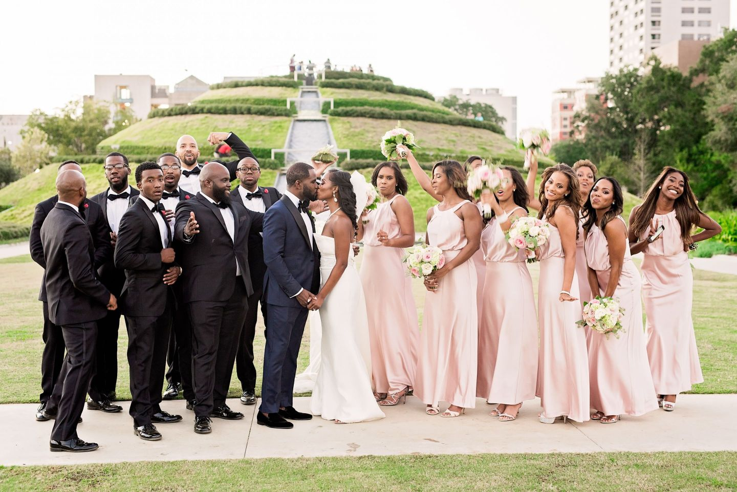 Andre-and-Gina-Pharris-Photography-0062 Houston, TX Wedding at the Buffalo Soldier Museum