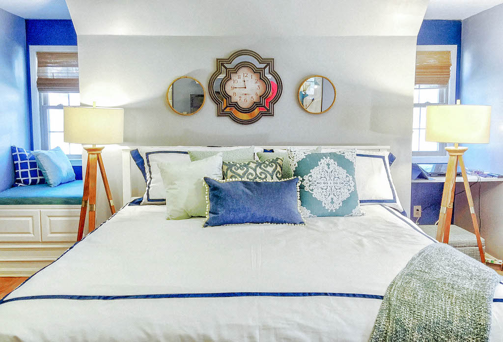 atbed Designing on a Dime : Before and After Master Bedroom Tour