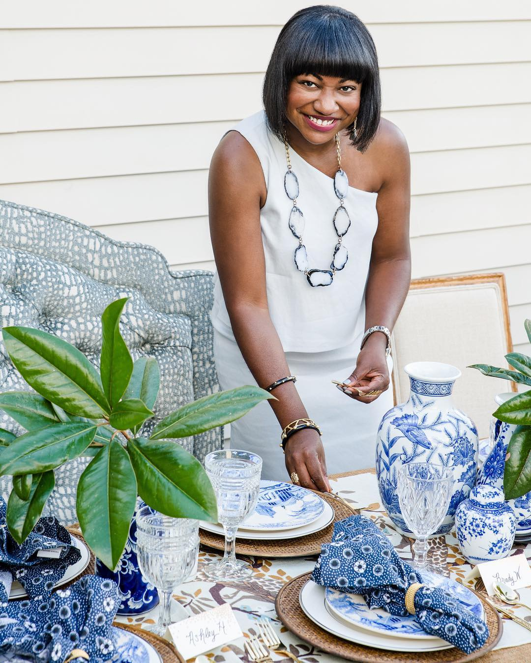 41936413_1955762564479909_5324922748756033536_o Southern Roots: Launch of Belle by Cheryl Luckett Furniture Collection