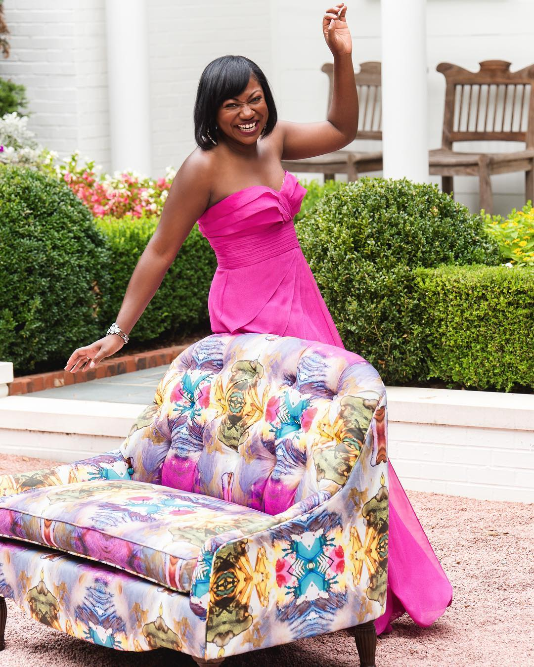 42983418_1975977079125124_7908632064503578624_o Southern Roots: Launch of Belle by Cheryl Luckett Furniture Collection
