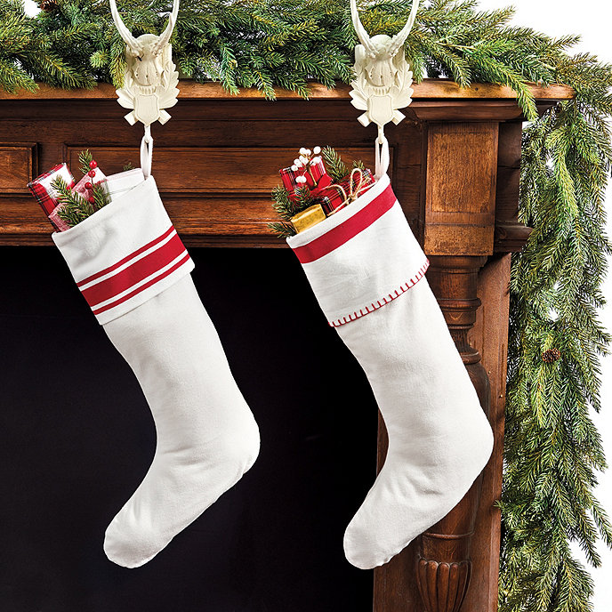 CHristmasstockings Traditional Holiday Stockings You Must Add to Your Home