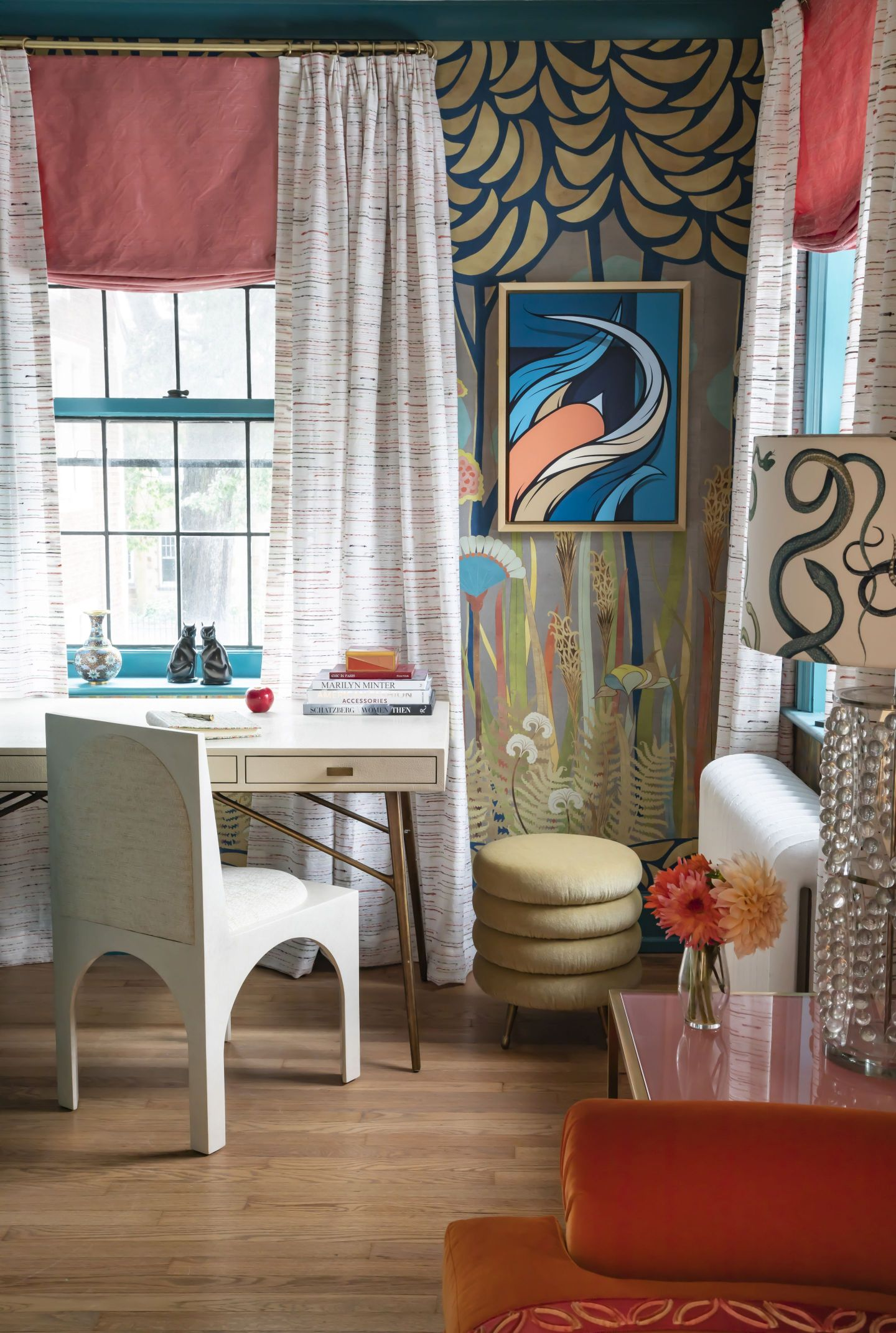Courtney-McLeod-RMLID-JL-Showhouse_26 Tips for Adding Color and Pattern to a Roomfrom a Louisiana Native