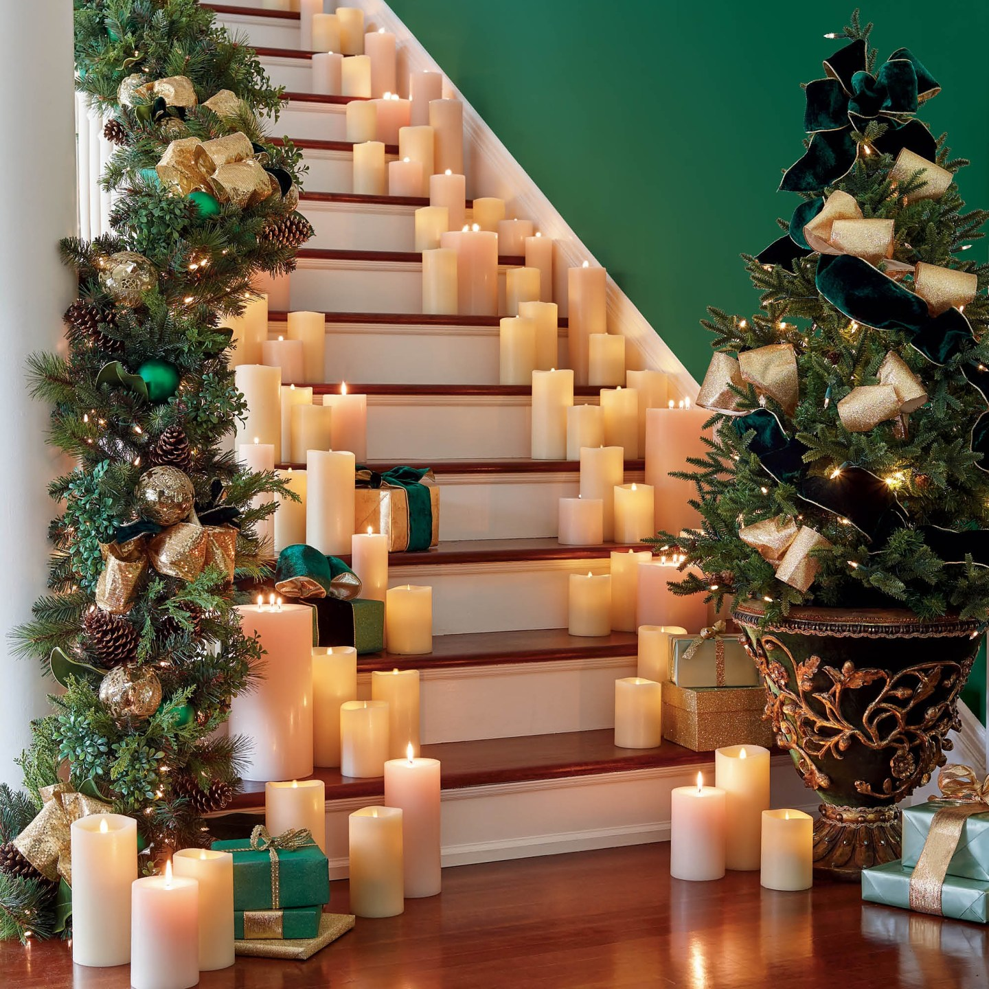 Cumberland-10 Green and Gold Holiday Decor We Love!