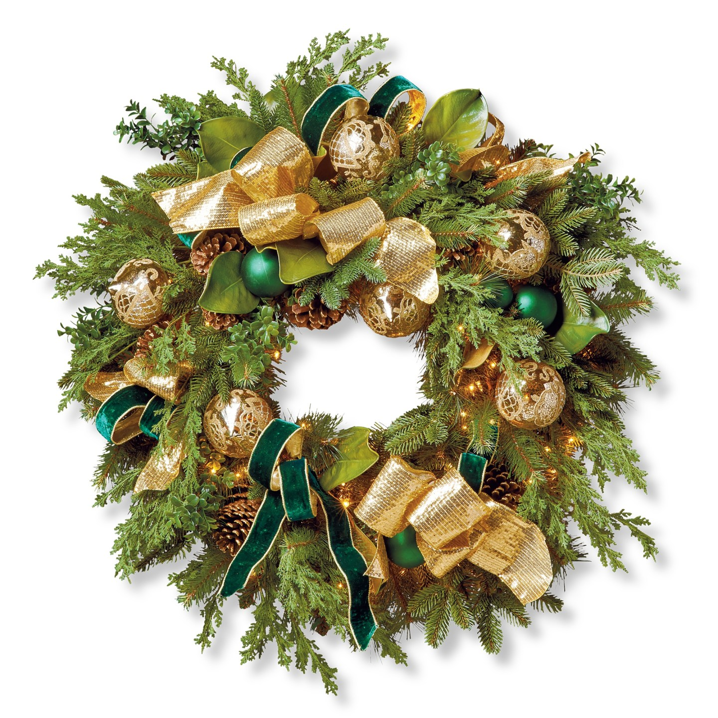Cumberland-9 Green and Gold Holiday Decor We Love!