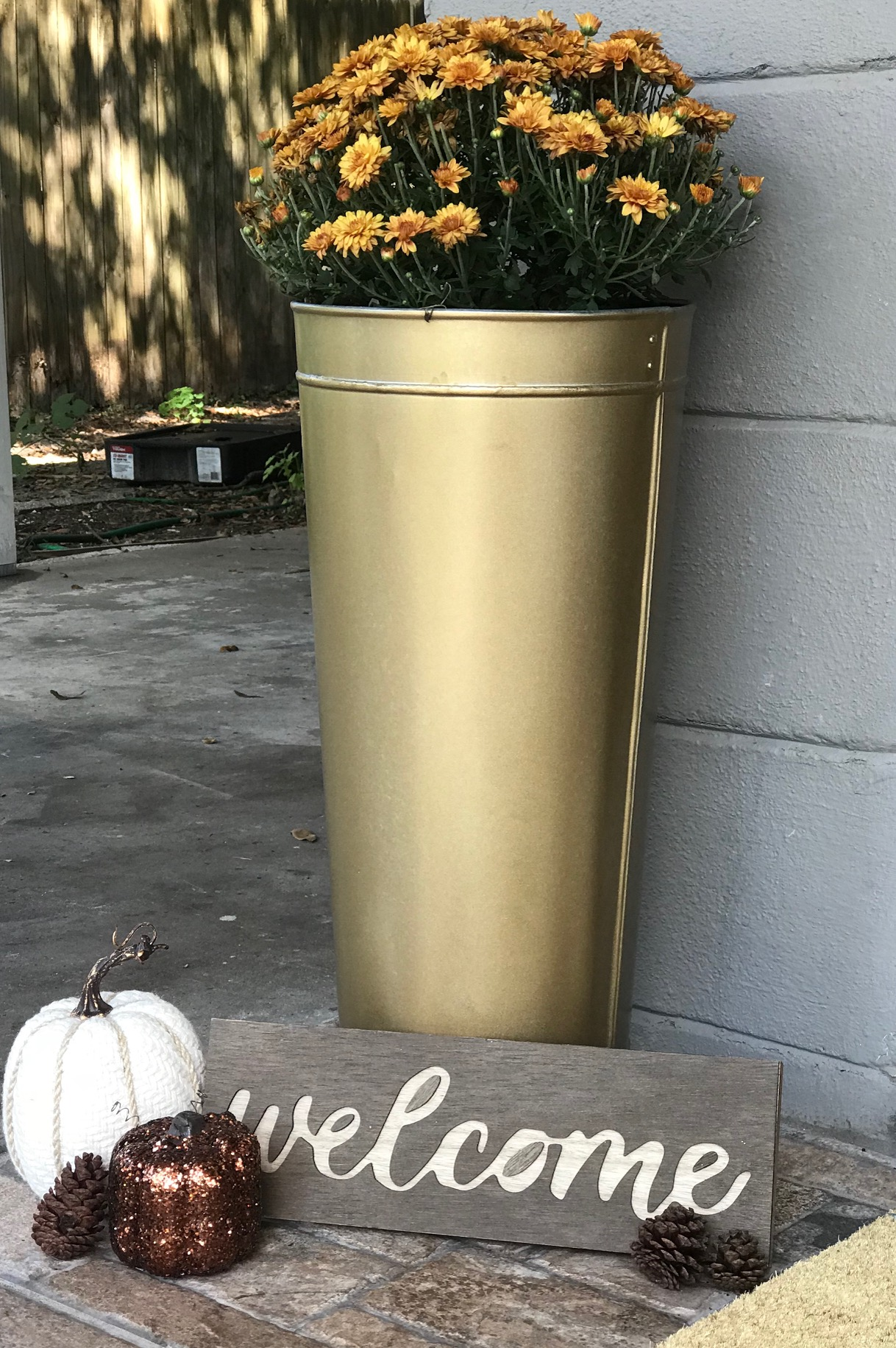 image4-1 Tips for Styling Your Front Porch for Fall from a Jacksonville, FL Designer