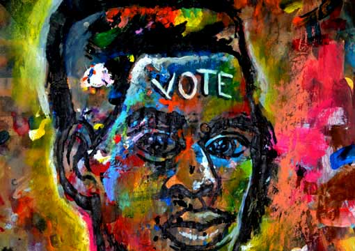 CoreyBarksdaleArt The Black Vote: A Look Through Art and Elections