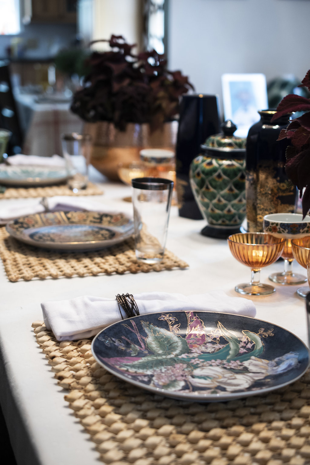 DSC_8277 Pink and Green Tablescape: Preppy Thanksgiving Inspiration