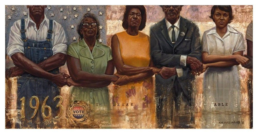 KAWilliamsArt The Black Vote: A Look Through Art and Elections