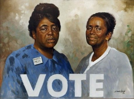 SimmiKnox The Black Vote: A Look Through Art and Elections