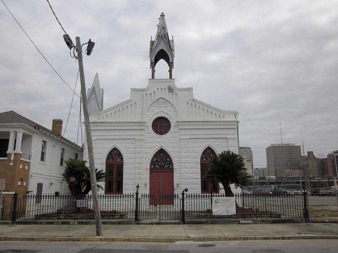 1200px-St_James_AME_NOLA_Front_4 New Year's Eve Travel: Historic Black Churches to Visit for Watch Night Celebrations