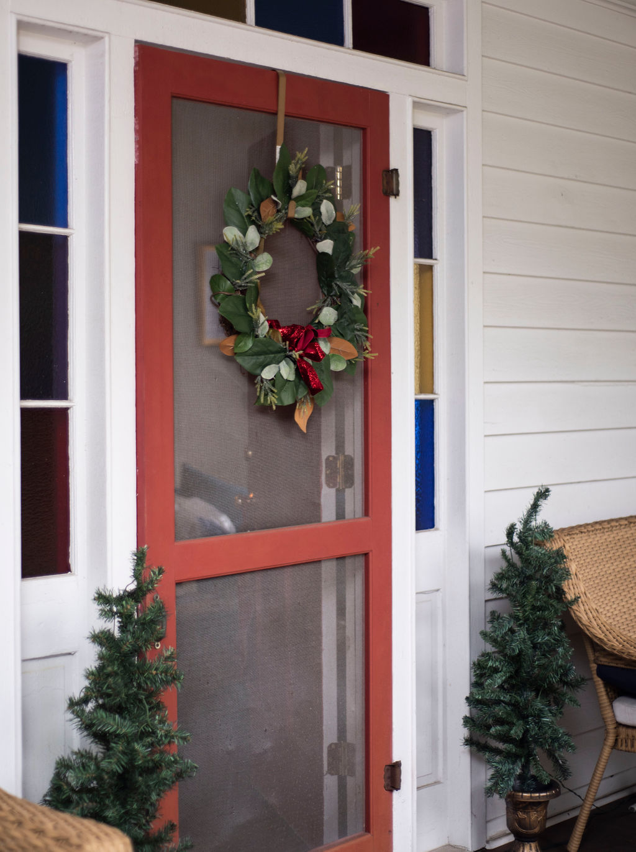 DSC_2442 Lowcountry Porch Tour: Farmhouse Christmas Style