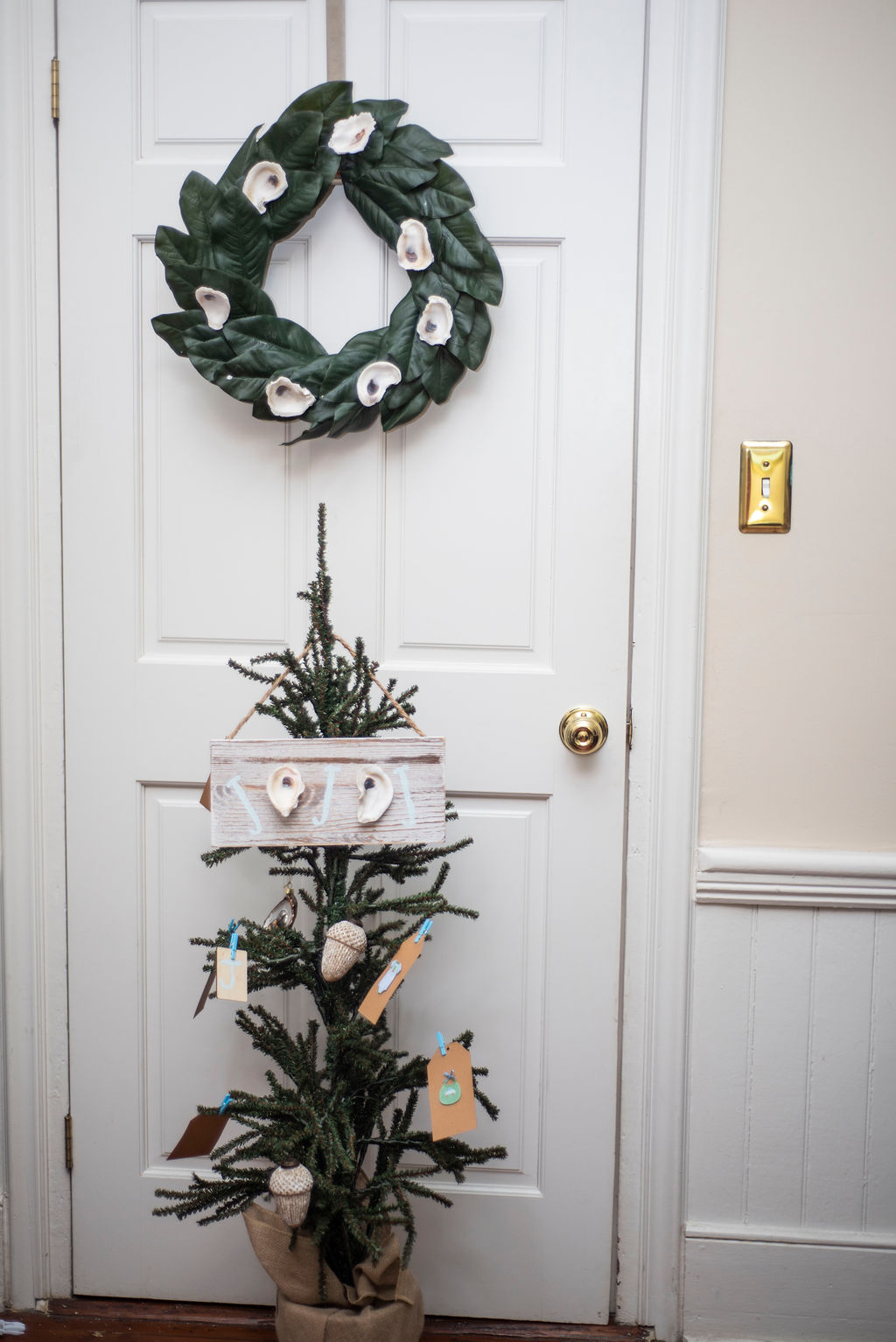 DSC_2445 Lowcountry Christmas: Oyster and Gullah Inspired Decor