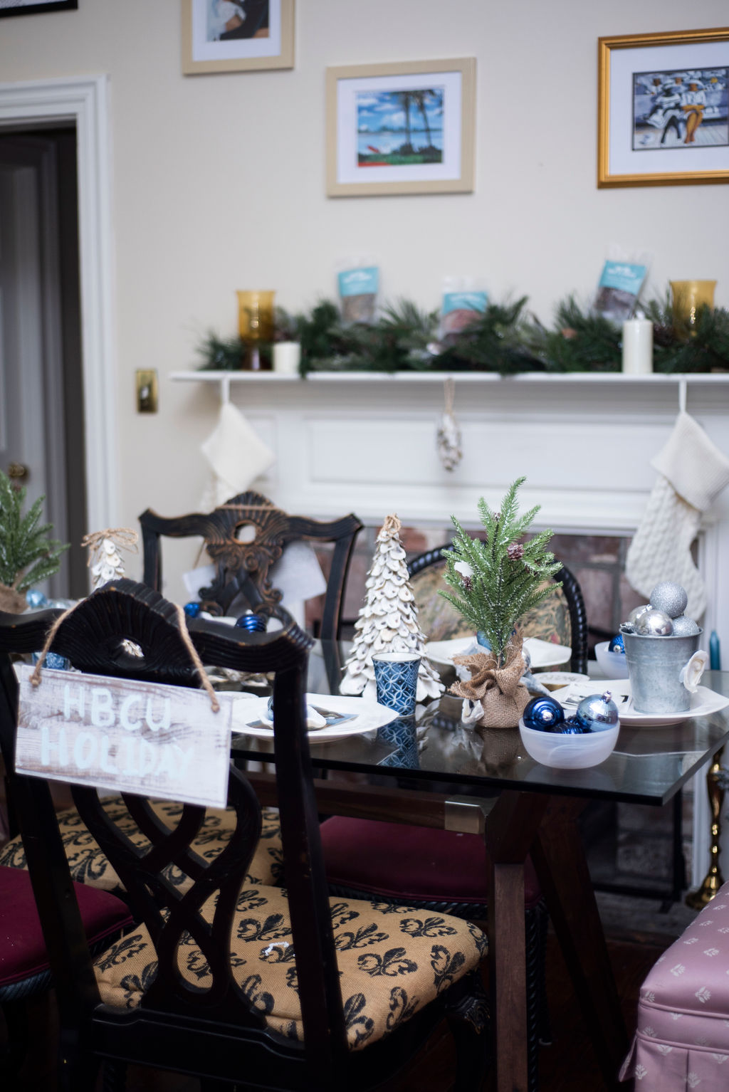 DSC_2480 Lowcountry Christmas: Oyster and Gullah Inspired Decor