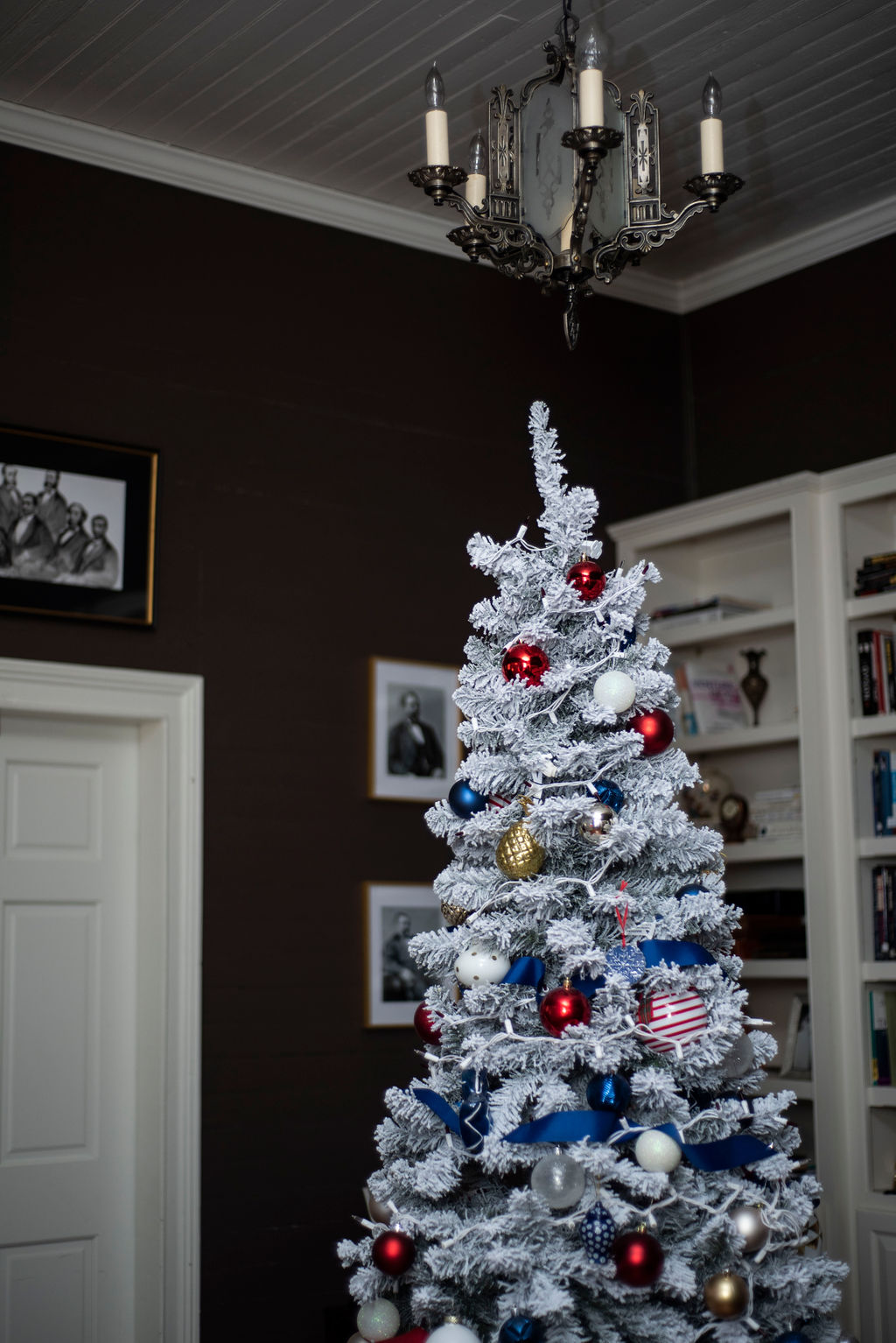 DSC_2906 Patriotic Holiday Decor: Reconstruction Era Holiday Theme