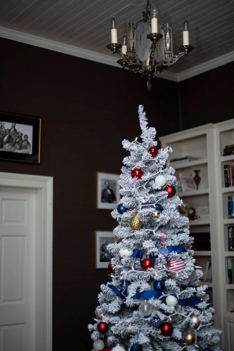 DSC_2906 Patriotic Holiday Decor: Reconstruction Era Holiday Theme