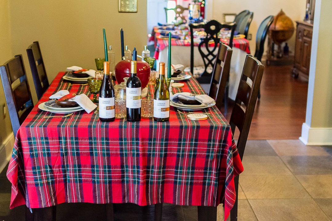DSC_4388 Plaid Holiday Inspiration - Christmas Dinner Party Fun