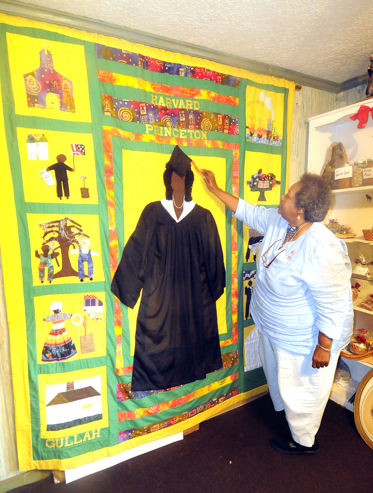 MichelleObamaStoryQuilt Gullah Museums to Explore in the South