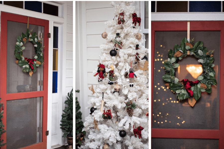 Lowcountry Porch Tour: Farmhouse Christmas Style