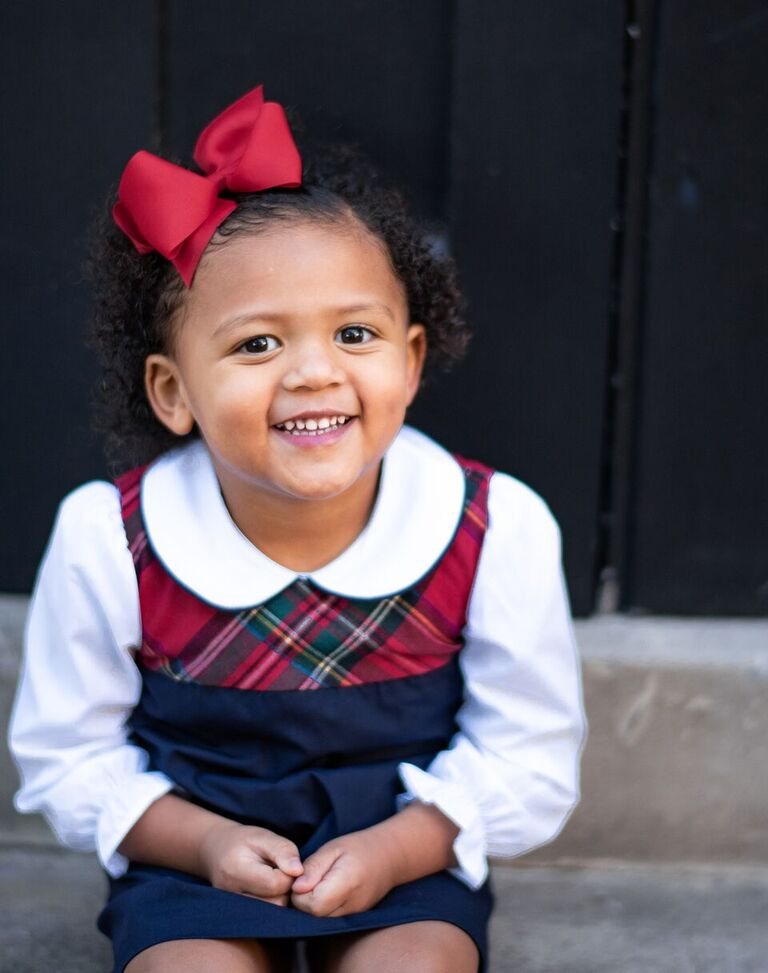 image1-9 Black Southern Belle Baby Holiday Photos We Love