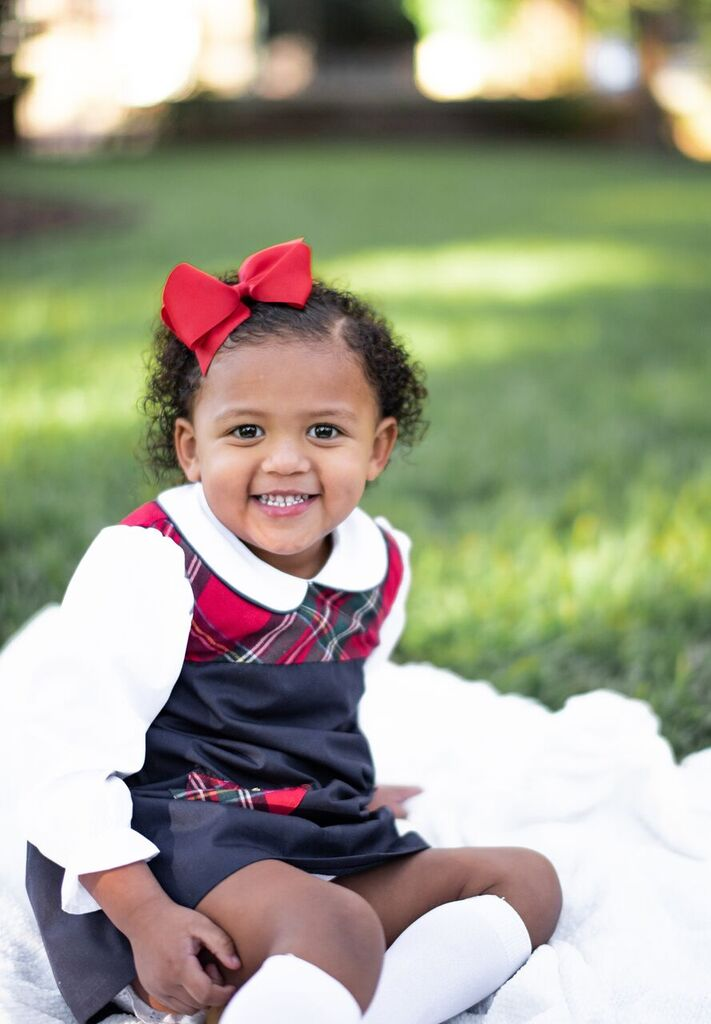 image3-7 Black Southern Belle Baby Holiday Photos We Love