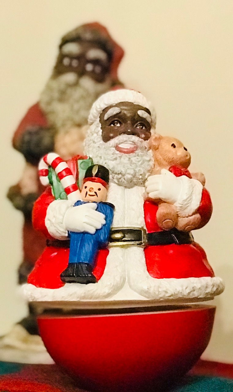 image4 African American Holiday Traditions: Black Santa in Upstate, SC