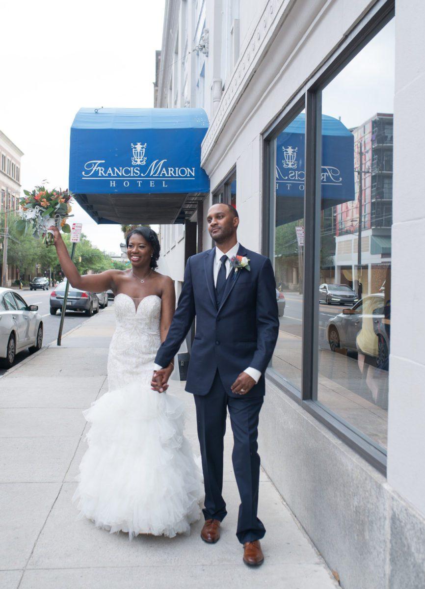 2o09gstwdt29igz5y265_big Charleston, SC Spring Wedding at Francis Marion Hotel