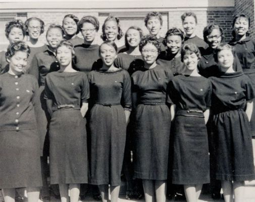 6c7bb3b94dada200a59b96f5860fb148 Vintage Images of Delta Sigma Theta We Adore