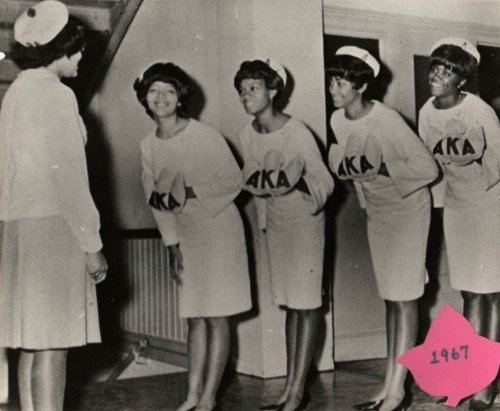 Vintage Images of Alpha Kappa Alpha