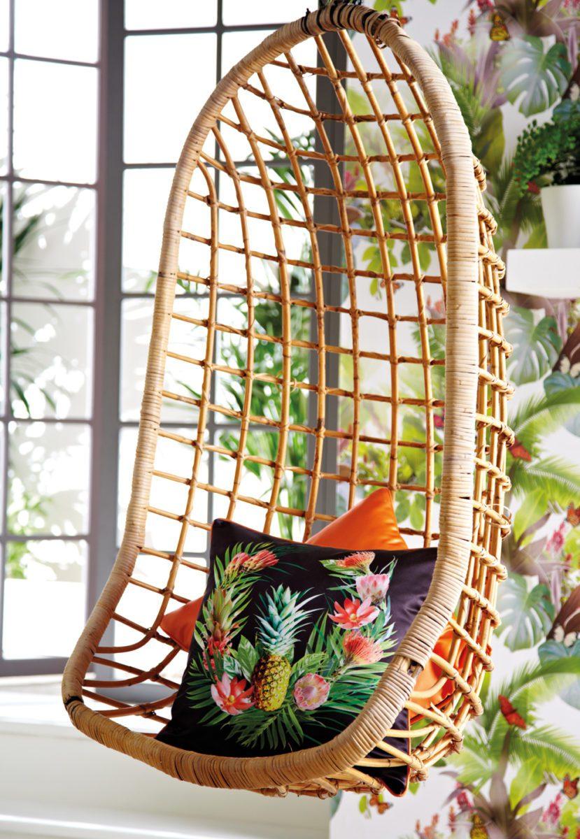 ARTHOUSE-Arthouse-Amazonia-Black-and-Orange-Cushion-1770294 Pineapple Decor: Tips for Decorating Your Home with Southern Hospitality