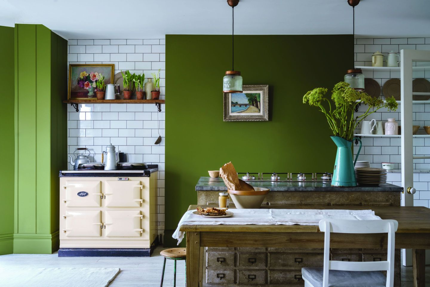FarrowBall_2604337_BanchaNo298.jpg-1440x961 Paint Inspiration: 20 Colorful Rooms We Love