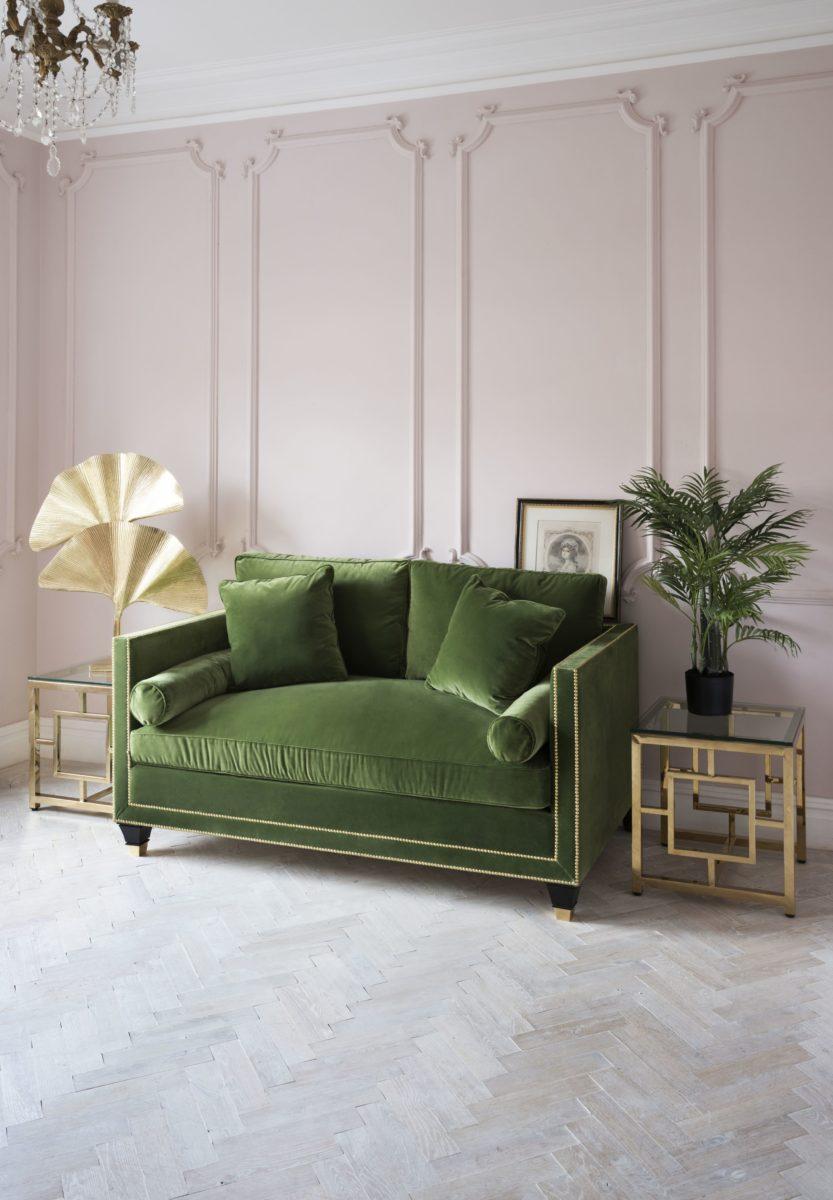 SweetpeaWillow_1618396_HatfieldGrassSofa.jpg-1440x2075 Pink and Green Rooms We Adore - Alpha Kappa Alpha Decor