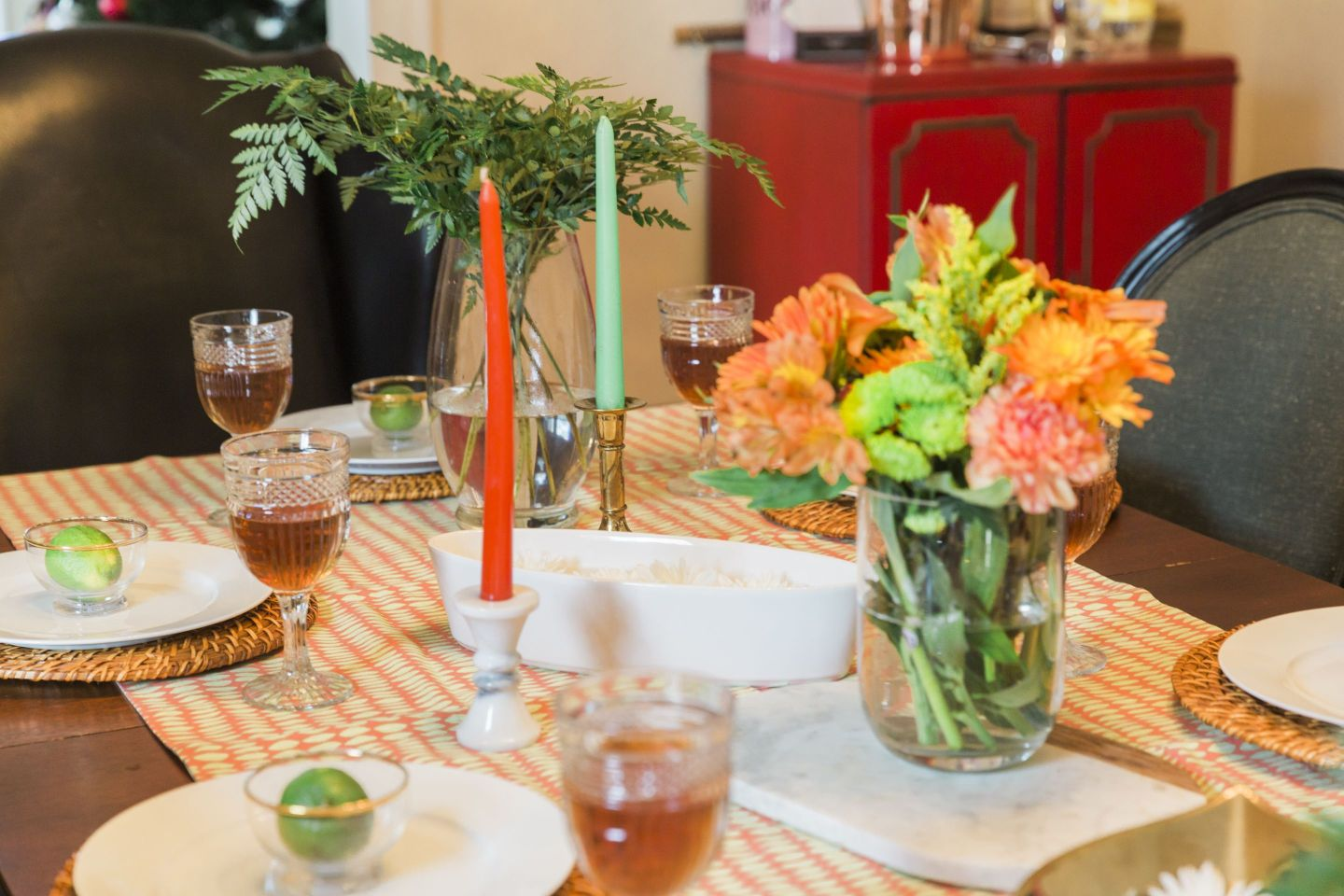 Black-Southern-Belle0092-1440x960 Rattler-Inspired: Orange and Green Spring Dinner Party