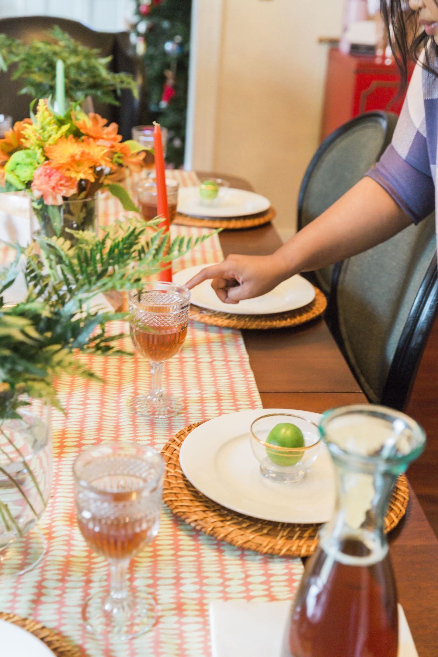 Black-Southern-Belle0095-1440x2160 Rattler-Inspired: Orange and Green Spring Dinner Party