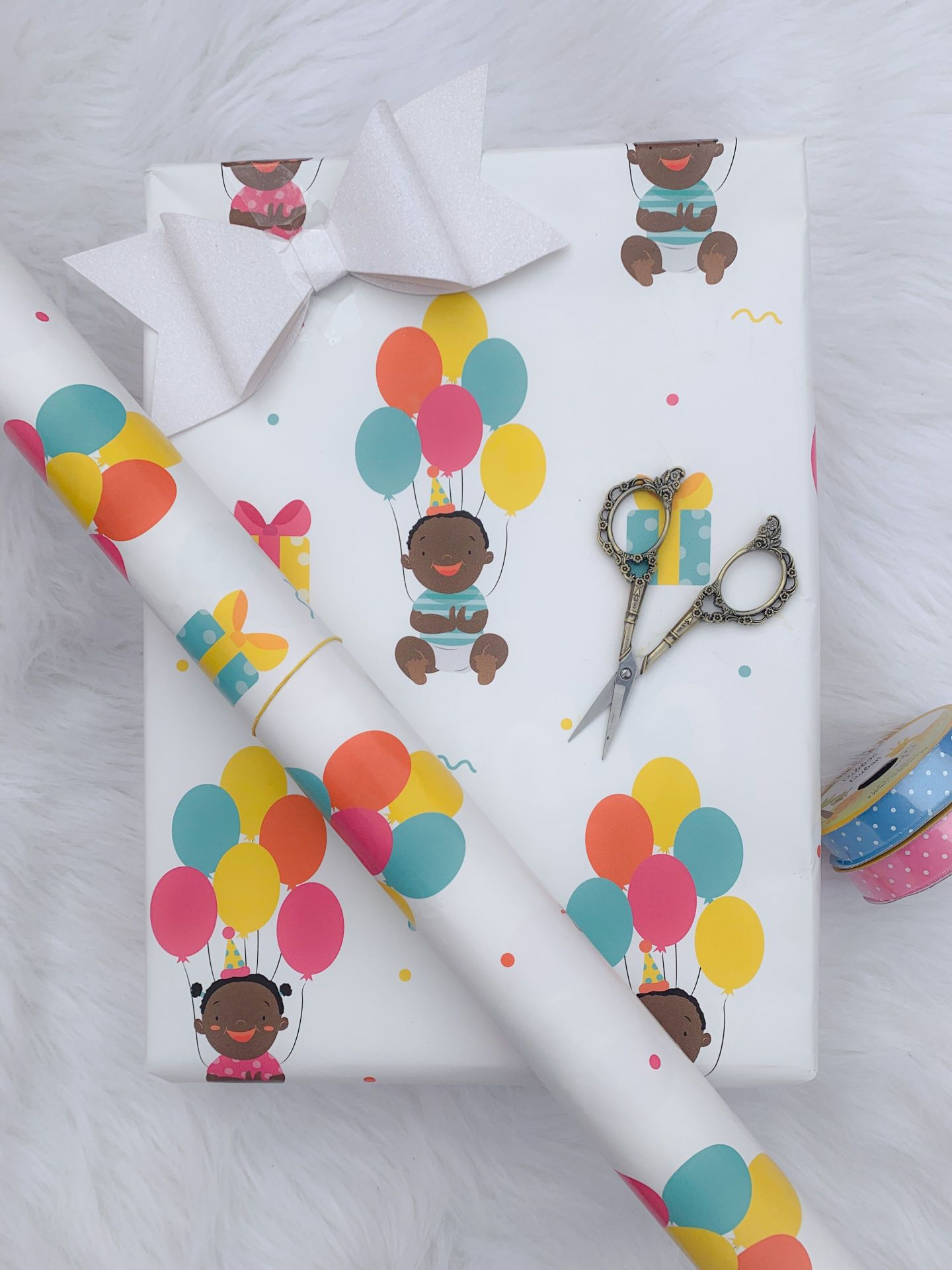 3628DA1A-4248-42A8-8494-160F32B0B634-1-1440x1920 Black Owned Paper Goods  Company Gives 3 Tips for How to Wrap Kid's Birthday Gifts