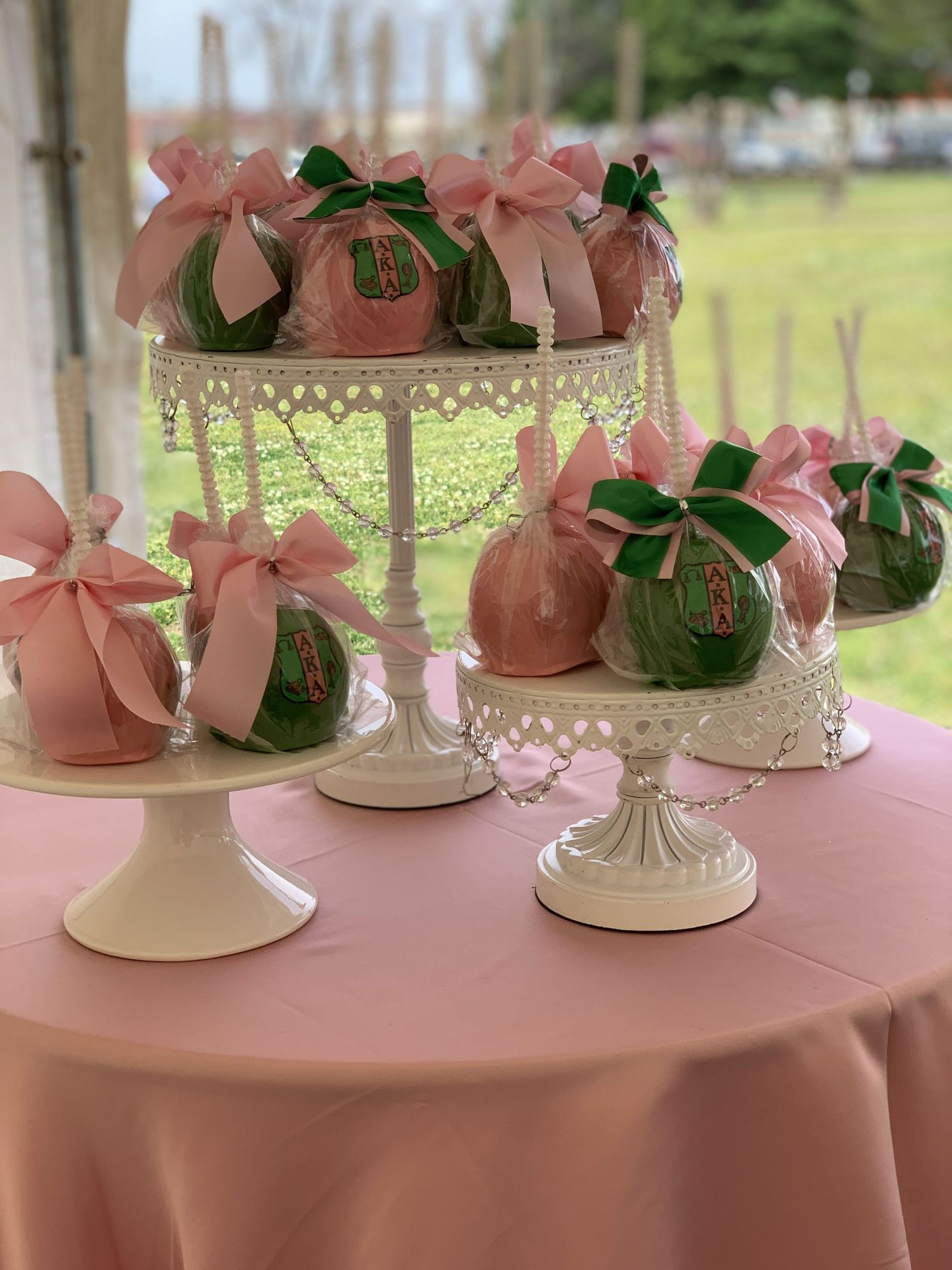 IMG_3027-1440x1920 Alpha Kappa Alpha Soiree - Pink & Green Outdoor Party Inspiration in Alabama