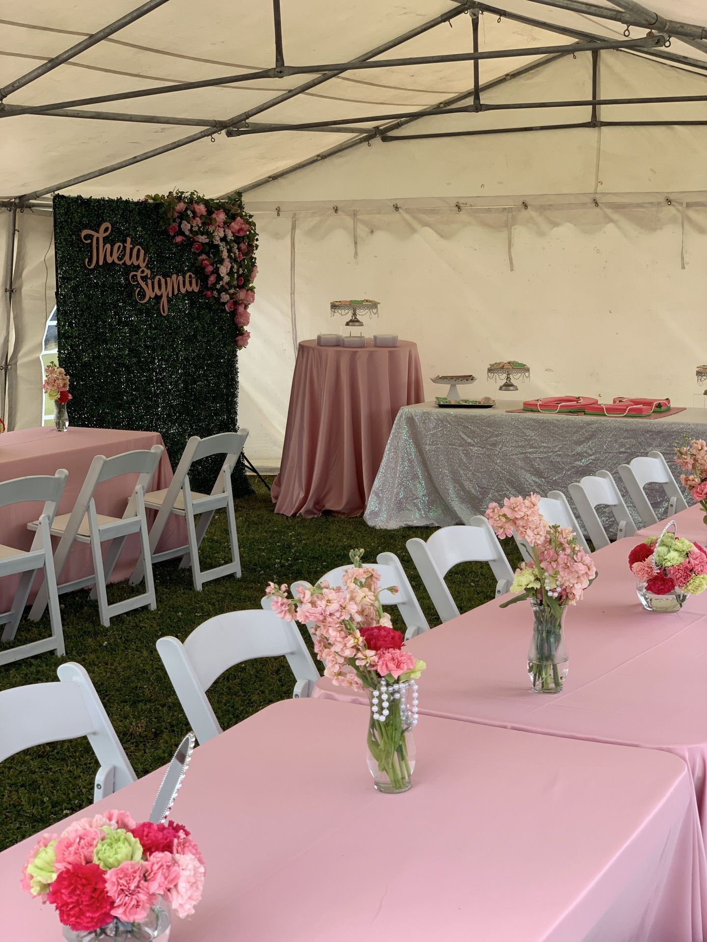IMG_3031-1440x1920 Alpha Kappa Alpha Soiree - Pink & Green Outdoor Party Inspiration in Alabama