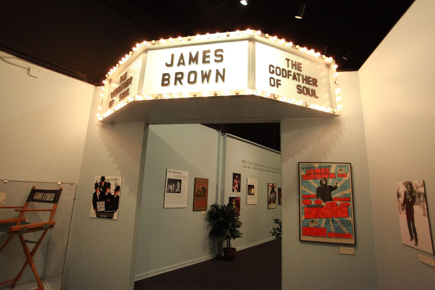 """James-Brown-Exhibit-Entrance-1440x960 """"Get on the Good Foot"""" in Augusta, GA. – Celebration of James Brown's Birthday (May 3rd)"""