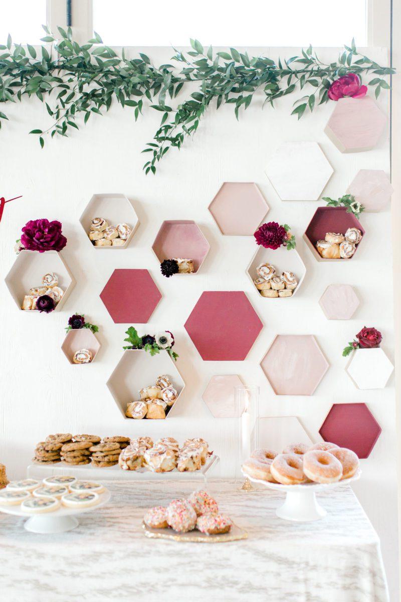 PineandSea_HuberWedding_ReceptionDetails-109-1440x2160 Spring Wedding Inspiration: How to Host a Dessert Bar with Cinnabon