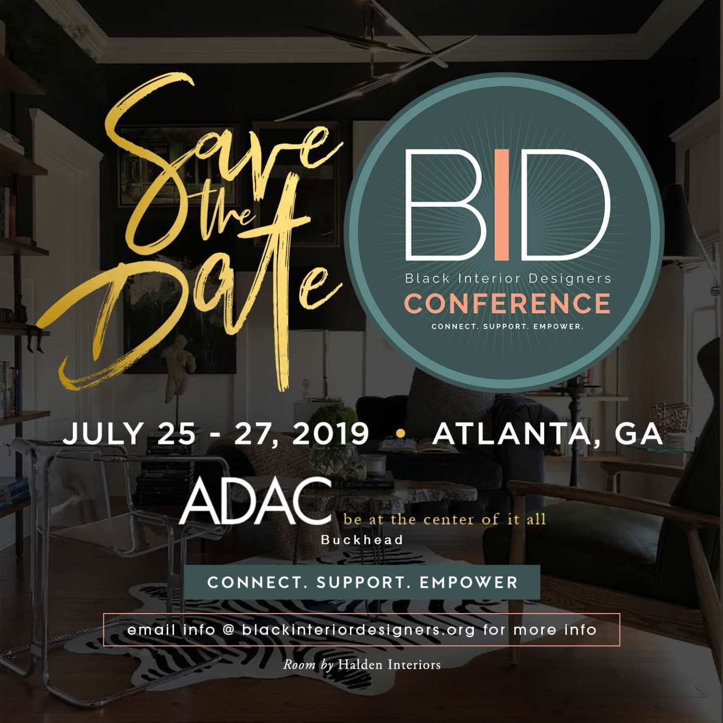 BID-2019-save-the-date Southern Design Is on the Rise with Black Interior Designers at the Forefront