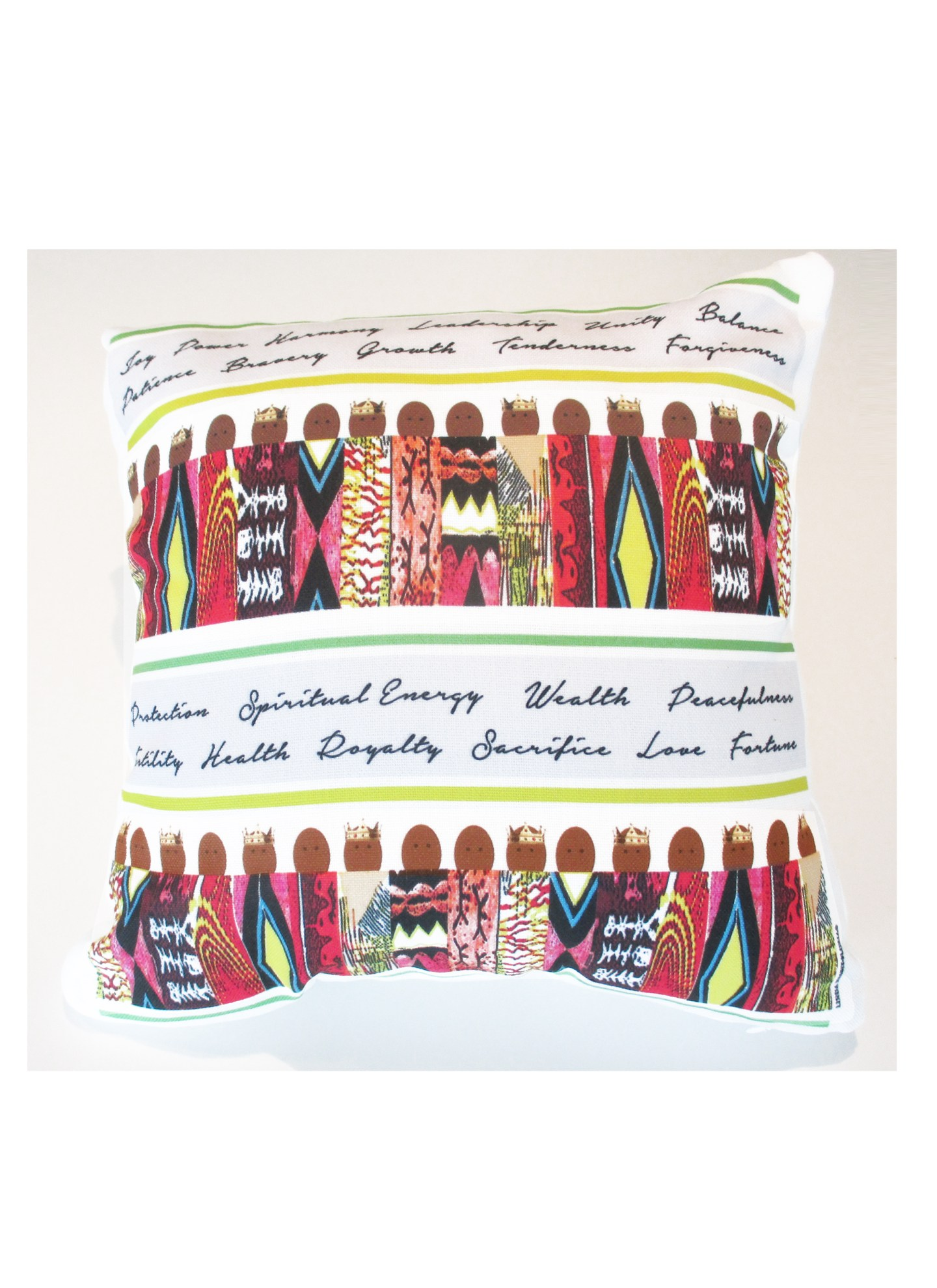 Pillow-Linda-Nesbit-Floria-1440x1980 Black Owned Giftware Line is  Inspired By Culture, Spirituality, and People