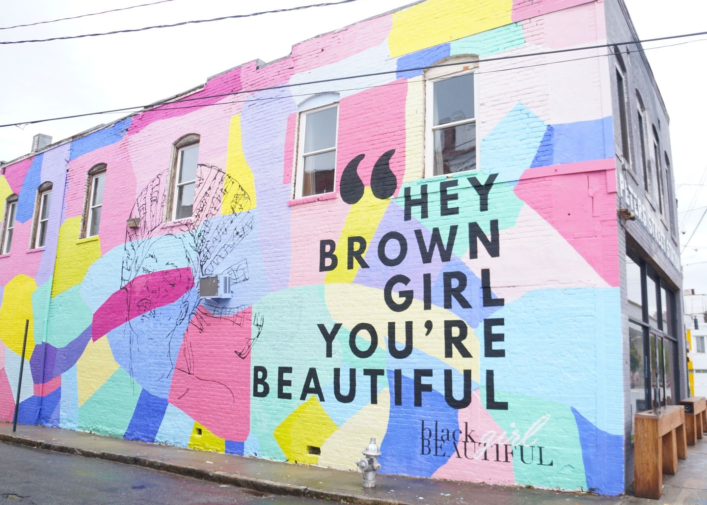 BGBMuralpromo-1440x1028 Artist Celebrates Black Girl Magic Through Mural and Shares Her Favorite Black Women Owned Spots in ATL