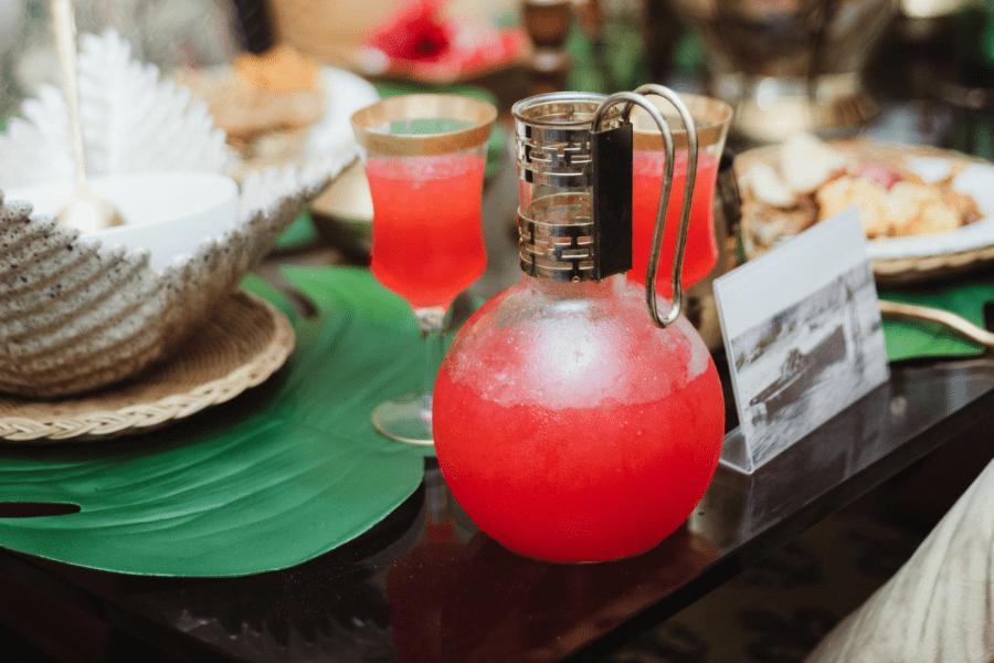 Black Heritage Through Food: Chef Wanda's Bissap Hibiscus Red Drink Punch