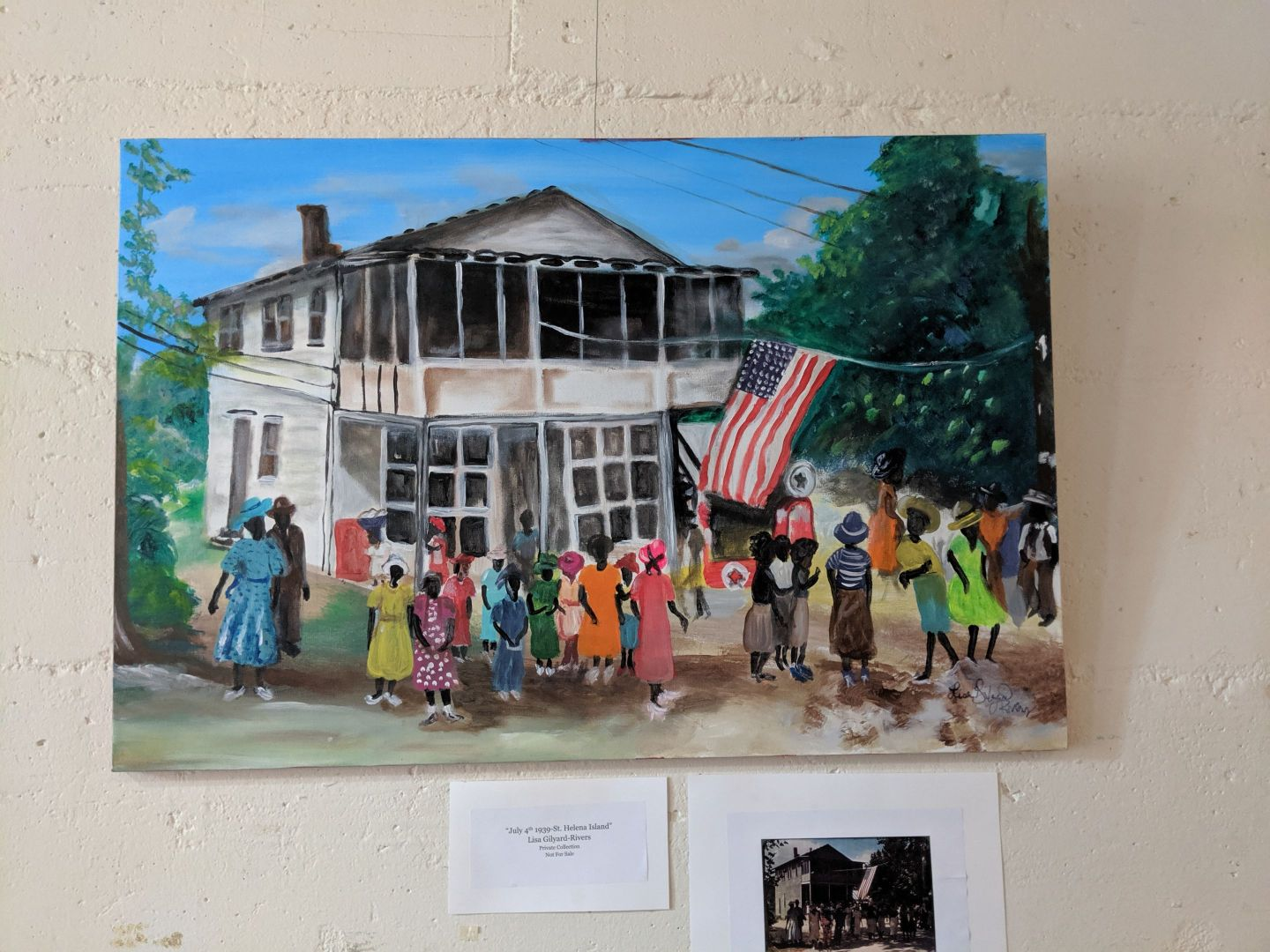 IMG_20190608_140838 The Art of Lisa Gilyard-Rivers: A Gullah Homecoming Exhibit at Penn Center