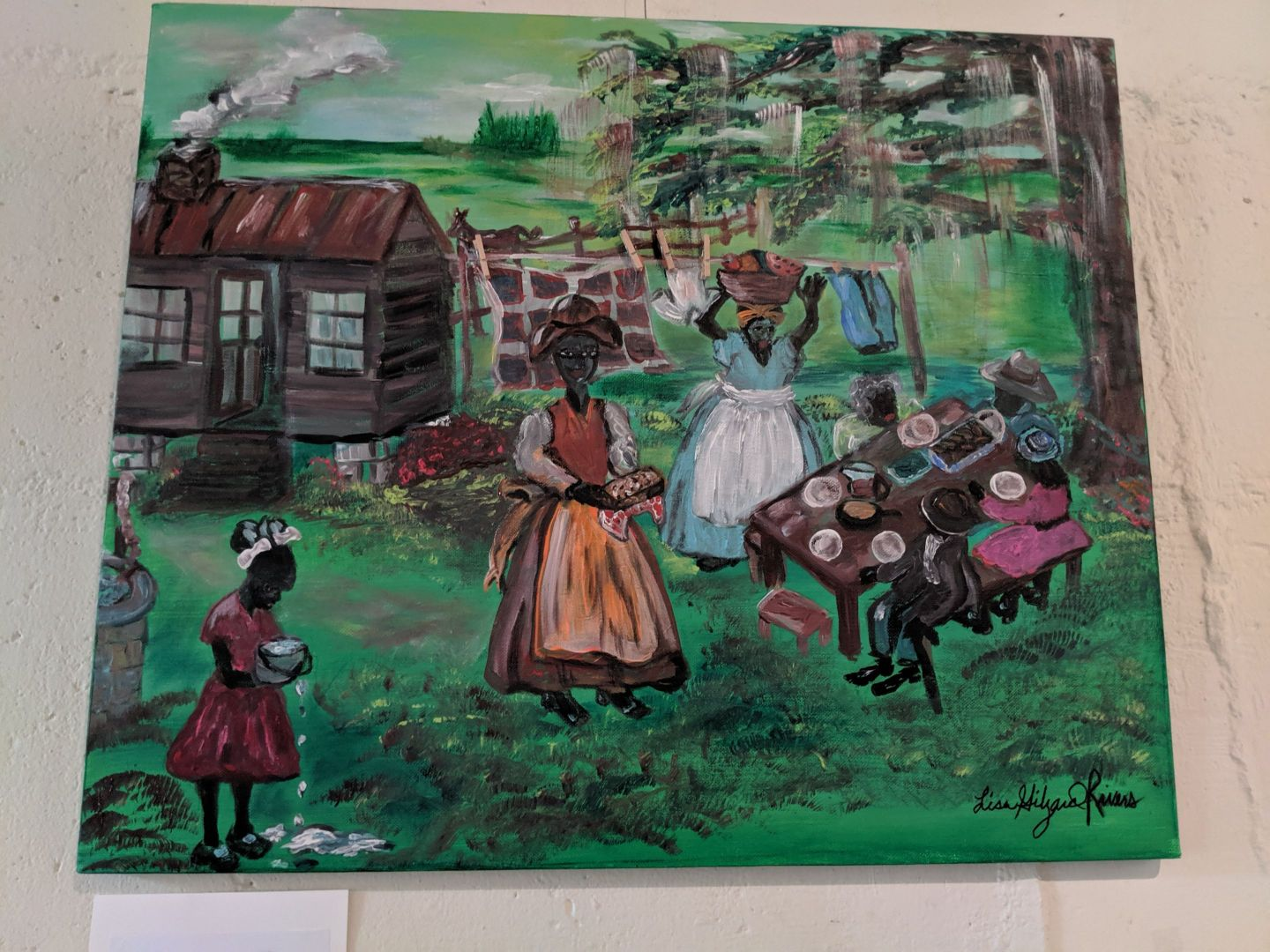 IMG_20190608_140853 The Art of Lisa Gilyard-Rivers: A Gullah Homecoming Exhibit at Penn Center