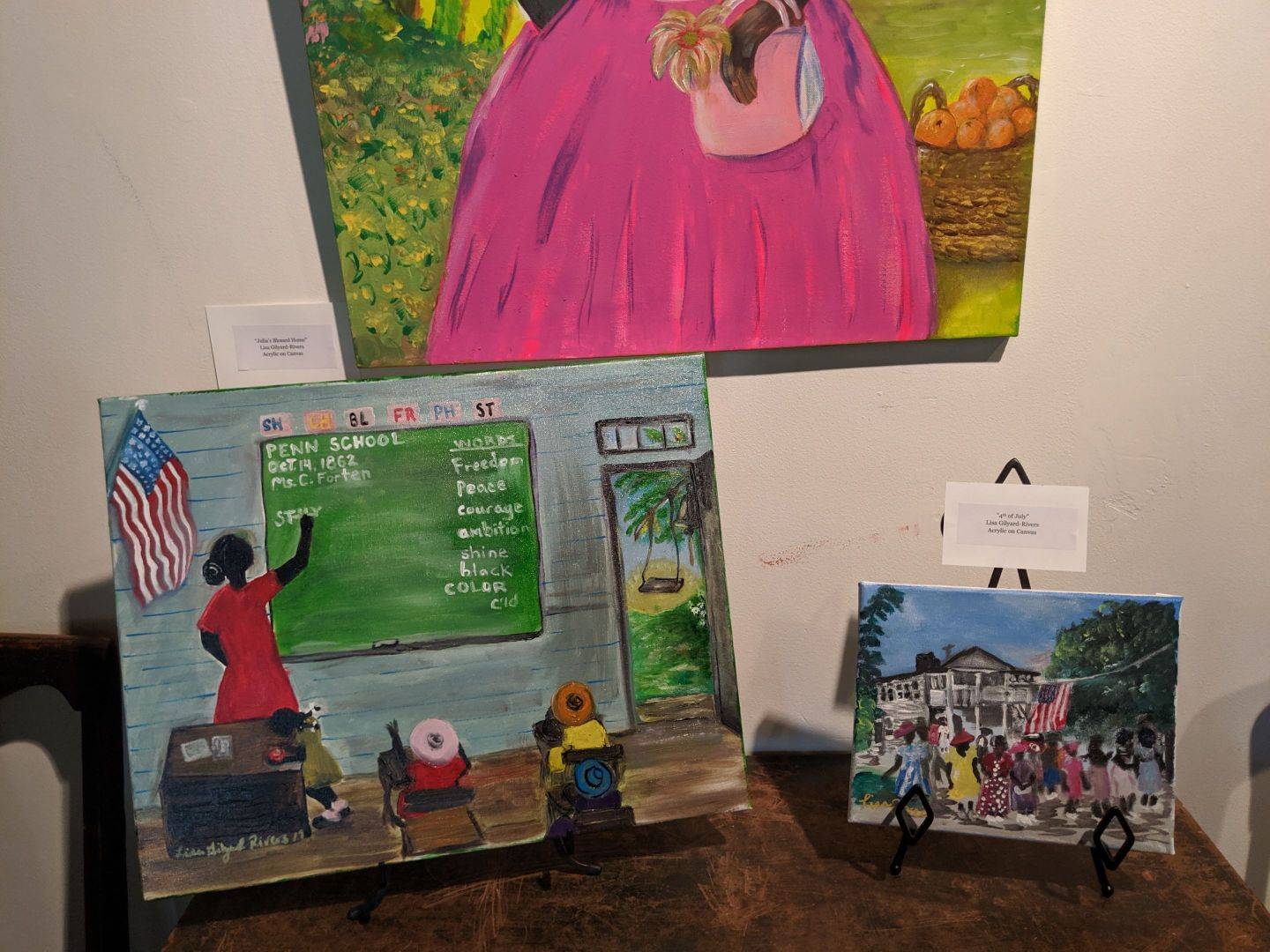 IMG_20190608_141308 The Art of Lisa Gilyard-Rivers: A Gullah Homecoming Exhibit at Penn Center