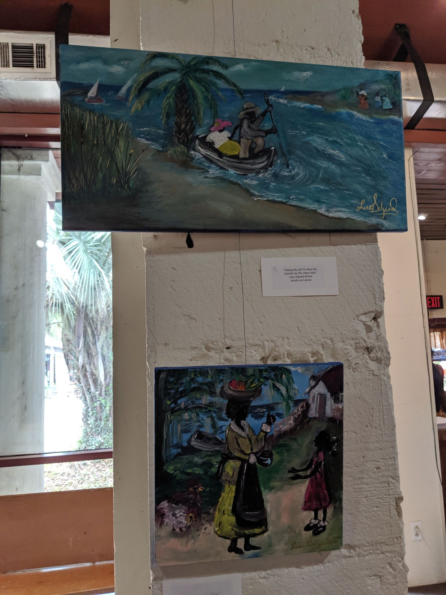 MVIMG_20190608_140707 The Art of Lisa Gilyard-Rivers: A Gullah Homecoming Exhibit at Penn Center